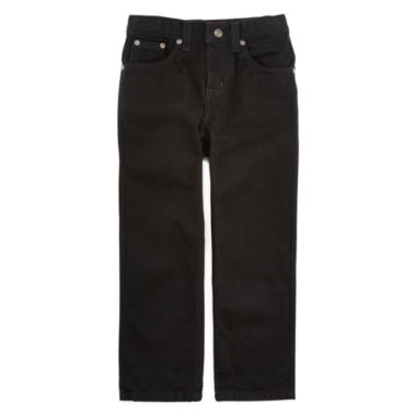 jcpenney.com | Arizona Relaxed-Fit Black Jeans - Preschool Boys 4-7