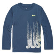 Nike® Dri-FIT Long-Sleeve Top - Preschool Boys 4-7