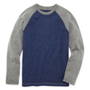 Arizona Long-Sleeve Colorblock Raglan Tee - Boys 8-20 and Husky