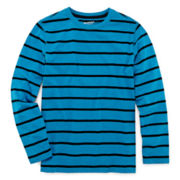 Arizona Long-Sleeve Striped Tee - Boys 8-20 and Husky
