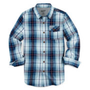 Arizona Long-Sleeve Button-Front Shirt - Boys 8-20