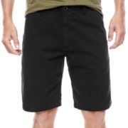 Arizona Flat-Front Chino Shorts