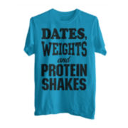 Weights for Dates Graphic Tee