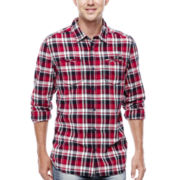 i jeans by Buffalo Marchie Long-Sleeve Plaid Shirt