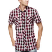 i jeans by Buffalo Malston Short-Sleeve Plaid Shirt