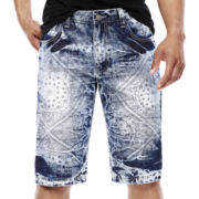 Switch® Bandana-Print Denim Shorts