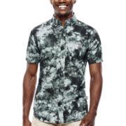 Ecko Unltd.® Tie-Dye Poplin Shirt