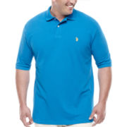 U.S. Polo Assn.® Short-Sleeve Knit Polo - Big & Tall