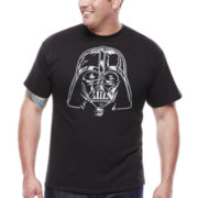 Star Wars™ Darth Vader Short-Sleeve Graphic Tee - Big & Tall
