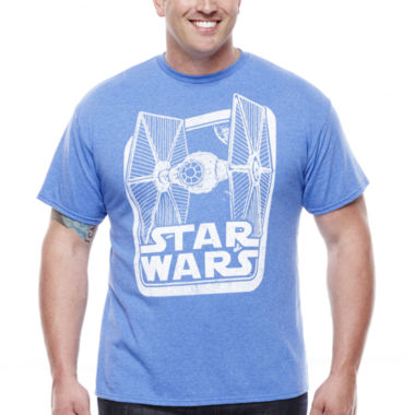 jcpenney.com | Star Wars™ TIE Fighter Short-Sleeve Graphic Tee - Big & Tall