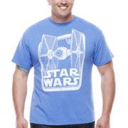 Star Wars™ TIE Fighter Short-Sleeve Graphic Tee - Big & Tall