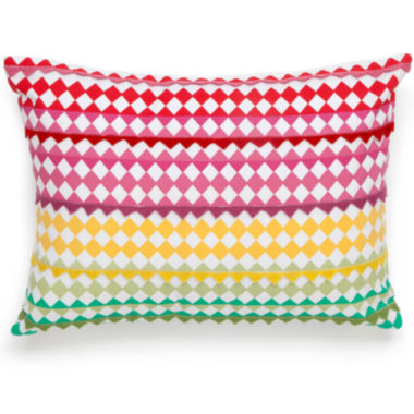 "jcpenney.com | Collier Campbell English Bloom 16"" Oblong Decorative Pillow"