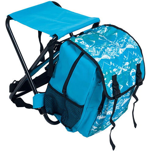 Stalwart™ Backpack with Foldable Stool