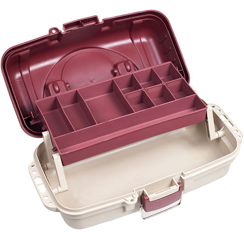 Gone Fishing™ Heavy-Duty 2-Layer Tackle Box