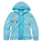 Disney Collection Frozen Elsa Fleece Jacket - Girls 2-10