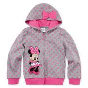 Disney Collection Minnie Mouse Fleece Jacket - Girls 2-10