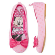 Disney Collection Minnie Mouse Ballet Flats - Girls