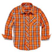 Arizona Long-Sleeve Woven Shirt - Toddler Boys 2t-5t