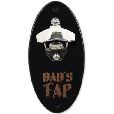"jcpenney.com | Cathy's Concepts ""Dad's Tap"" Wall-Mounted Bottle Opener"