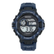 Armitron® Mens Navy Strap Watch