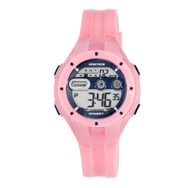 jcpenney.com | Armitron® Womens Pink Strap Watch