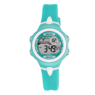 jcpenney.com | Armitron® Womens Teal Strap Watch