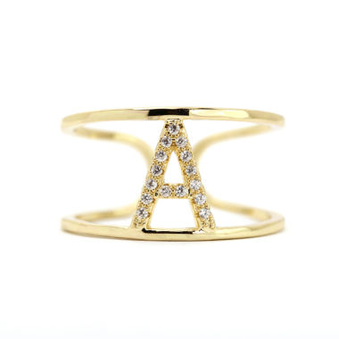 jcpenney.com | Sparkle Allure Adjustable Gold A Band