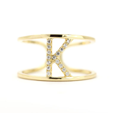 jcpenney.com | Sparkle Allure Adjustable Cocktail K Ring
