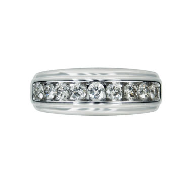 jcpenney.com | Mens 1 CT. T.W. White Diamond 10K Gold Wedding Band