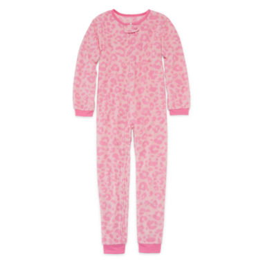 jcpenney.com | Okie Dokie® Sleeper Cheetah Union Suit - Girls