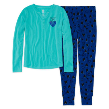 jcpenney.com | Total Girl® 2-pc. Totes Sleeping All Day Set - Girls