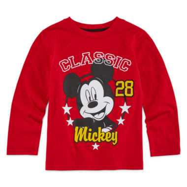 jcpenney.com | Okie Dokie® Mickey Mouse Long-Sleeve Tee - Toddler Boys 2t-5t