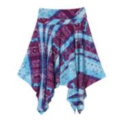 by&by Sharkbite Knit Skirt - Girls 7-16