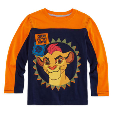 jcpenney.com | Okie Dokie® Lion Guard Long-Sleeve Tee - Preschool Boys 4-7