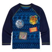 Okie Dokie® Lion Guard Long-Sleeve Tee - Preschool Boys 4-7