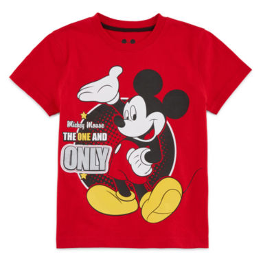 jcpenney.com | Okie Dokie® Mickey Mouse Short-Sleeve Tee - Preschool Boys 4-7