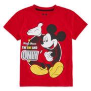 Okie Dokie® Mickey Mouse Short-Sleeve Tee - Preschool Boys 4-7
