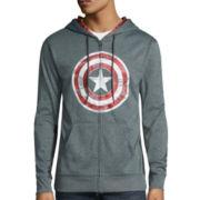 Marvel® Long-Sleeve Captain America Hoodie
