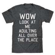 Short-Sleeve Adulting Tee