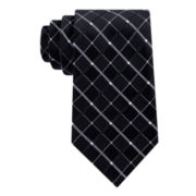 Stafford® Lakeside Grid 2 Silk Tie