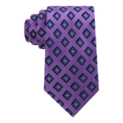Stafford® Executive Boardroom Neat Silk Tie