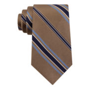 Stafford® Executive Stock Exchange Stripe Silk Tie