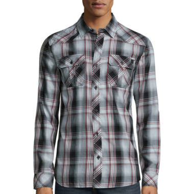 jcpenney.com | I Jeans By Buffalo® Maddux Long-Sleeve Woven Shirt