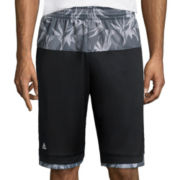 adidas® Team Speed Urban Jungle Print Shorts