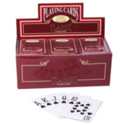 Jumbo Face Coated Poker Playing Cards-12 Decks
