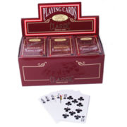 Bridge Deck Coated Playing Cards-12 Decks