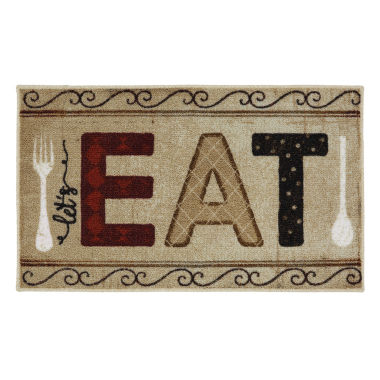 jcpenney.com | JCPenney Home™ Let's Eat Rectangular Rug