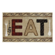 JCPenney Home™ Let's Eat Rectangular Rug