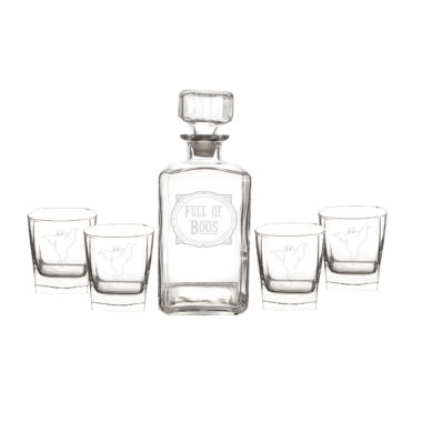 jcpenney.com | Cathy'S Concepts Full Of Boos 5-Pc. Decanter Set