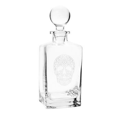 jcpenney.com | Cathy'S Concepts Sugar Skull 32-Oz. Square Whiskey Decanter